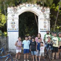 Začátek batayporské cyklojízdy
