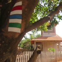 Krajané v Bataypoře staví kapličku pro repliku Pražského Jezulátka.