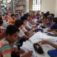 Výuka češtiny v Bataypoře - velké kraslicové dny